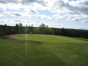 Golf course Improvements New 5th Green